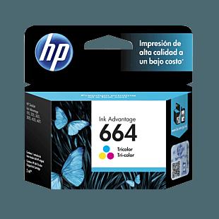 Cartucho de Tinta HP 664 Tricolor Original