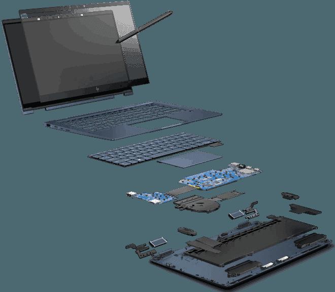 Antena / Audio | HP Elite Dragonfly
