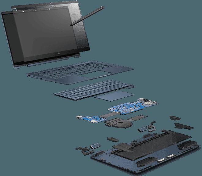 Pantalla y lápiz | HP Elite Dragonfly