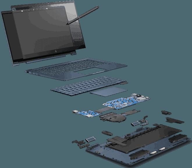 Teclado | HP Elite Dragonfly